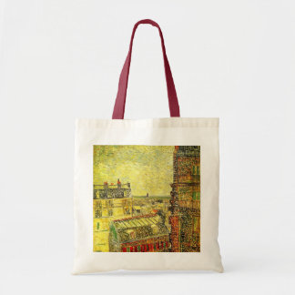 Van Gogh Paris View from Vincent's Room, Rue Lepic Tote Bag