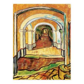 Van Gogh - pasillo del hospital de Saint Paul Postal