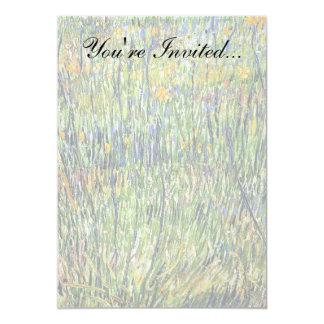 Van Gogh - Pasture In Bloom Custom Invitations