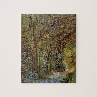 Van Gogh Path in the Woods, Vintage Fine Art Jigsaw Puzzle