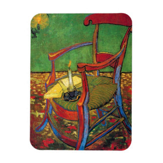 Van Gogh - Paul Gauguin's Armchair Magnets