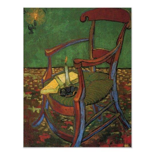 Van Gogh Paul Gauguin's Armchair, Vintage Art Card
