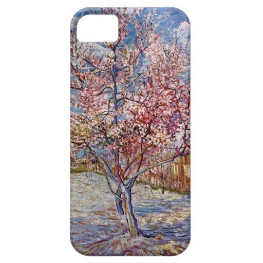 Van Gogh  Peach Tree in Bloom iPhone 5 Covers