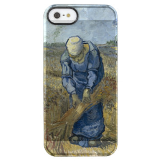 Van Gogh Peasant Woman Binding Sheaves Clear iPhone SE/5/5s Case