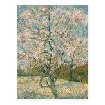 Van Gogh Pink Peach Tree in Blossom (F404) Postcards