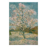 Van Gogh Pink Peach Tree in Blossom (F404) Poster