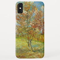 Van Gogh Pink Peach Tree in Blossom, Fine Art iPhone XS Max Case