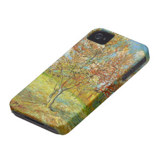 Van Gogh Pink Peach Tree in Blossom, Fine Art iPhone 4 Cover