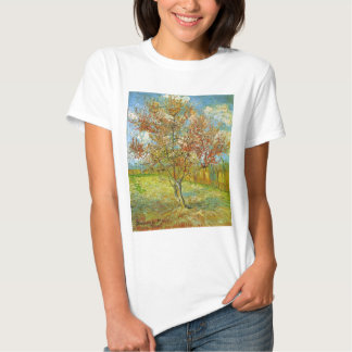 Van Gogh Pink Peach Tree in Blossom, Fine Art Shirt