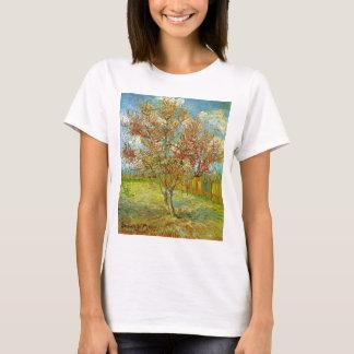 Van Gogh Pink Peach Tree in Blossom, Fine Art T-Shirt