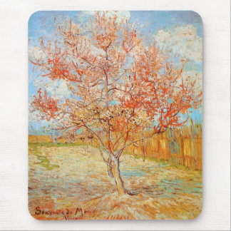Van Gogh Pink Peach Tree in Blossom mouse pad