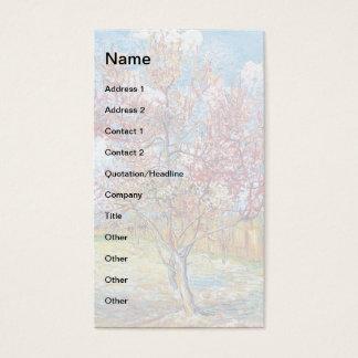 Van Gogh - Pink Peach Trees Business Card