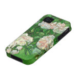 Van Gogh Pink Rose Flowers, Vintage Still Life Art iPhone 4/4S Cover