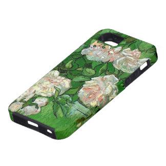 Van Gogh Pink Rose Flowers, Vintage Still Life Art iPhone 5 Cover