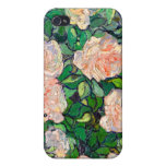 Van Gogh Pink Roses iPhone 4 iPhone 4 Cover