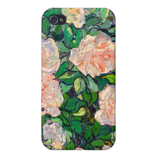 Van Gogh Pink Roses iPhone 4 iPhone 4 Cover
