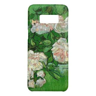 Van Gogh Pink Roses, Vintage Garden Fine Art Case-Mate Samsung Galaxy S8 Case