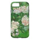 Van Gogh Pink Roses, Vintage Garden Fine Art iPhone 8/7 Case