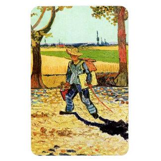 Van Gogh: Pintor en su manera de trabajar Imán