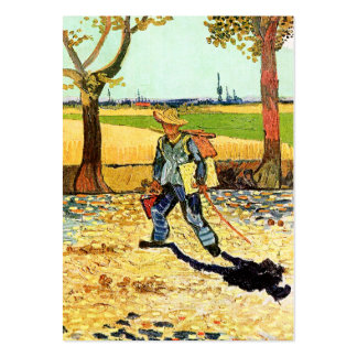 Van Gogh: Pintor en su manera de trabajar Tarjetas De Visita Grandes