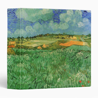 Van Gogh Plain Near Auvers, Vintage Fine Art Binder
