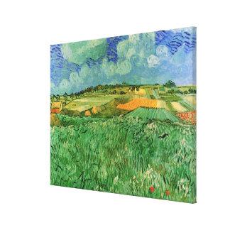 Van Gogh Plain Near Auvers, Vintage Fine Art Canvas Print