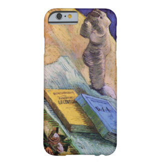 Van Gogh, Plaster Statuette, a Rose and Two Novels Barely There iPhone 6 Case