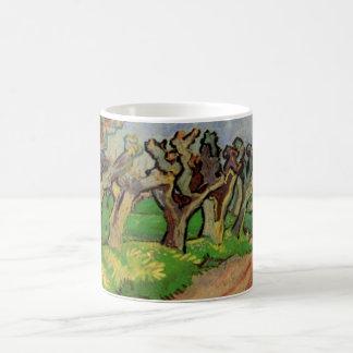Van Gogh Pollard Willows, Vintage Landscape Art Coffee Mug