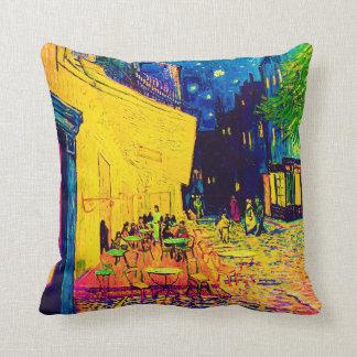 Van Gogh Pop Art Cafe Terrace At Night Pillows