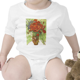 Van Gogh Poppies Tee Shirts