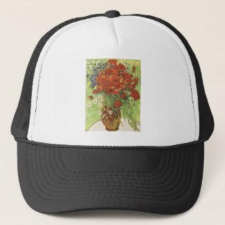 Van Gogh Poppies Trucker Hat