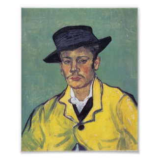 Van Gogh - Portrait of Armand Roulin Poster