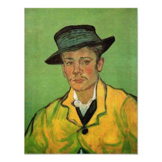 Van Gogh, Portrait of Armand Roulin, Vintage Art Card