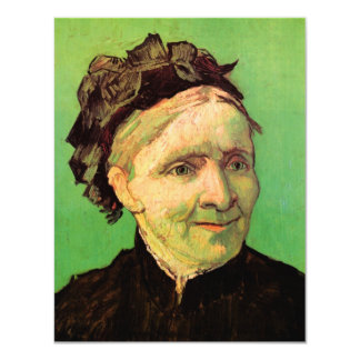 Van Gogh; Portrait of Artist's Mother, Vintage Art Card
