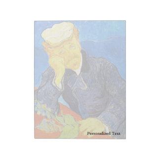 Van Gogh   Portrait of Dr. Gachet Notepad