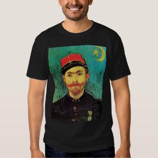 Van Gogh - Portrait Of Milliet Second Lieutenant T Shirt