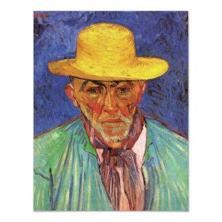 "Van Gogh; Portrait of Patience Escalier Shepherd 4.25"" X 5.5"" Invitation Card"
