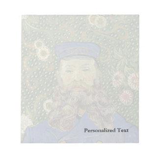 Van Gogh   Portrait of Postman Joseph Roulin II Notepad