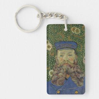 Van Gogh | Portrait of Postman Joseph Roulin II Single-Sided Rectangular Acrylic Keychain