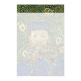 Van Gogh   Portrait of Postman Joseph Roulin  II Stationery
