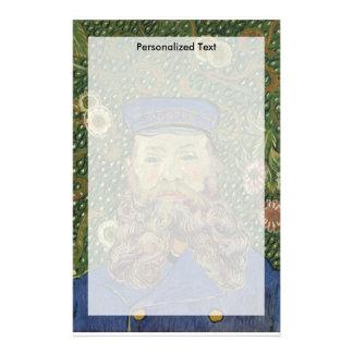 Van Gogh | Portrait of Postman Joseph Roulin II Stationery