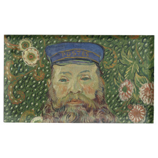 Van Gogh | Portrait of Postman Joseph Roulin II Table Card Holder