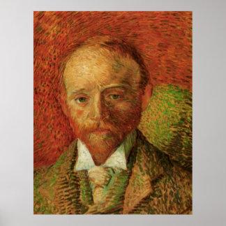 Van Gogh Portrait of the Art Dealer Alexander Reid Poster
