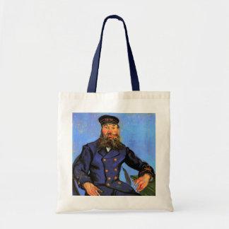 Van Gogh Portrait of the Postman Joseph Roulin Canvas Bags