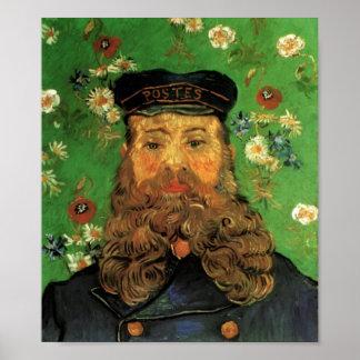 Van Gogh - Portrait of the Postman Joseph Roulin Poster