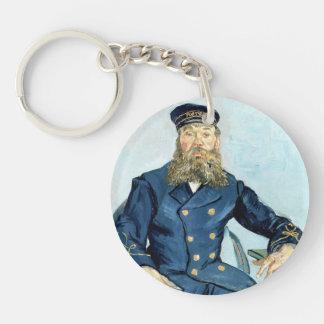 Van Gogh | Portrait of the Postman Joseph Roulin Single-Sided Round Acrylic Keychain