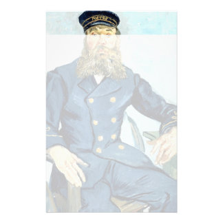 Van Gogh   Portrait of the Postman Joseph Roulin Stationery