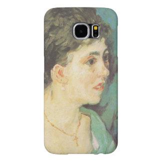 van Gogh | Portrait of Woman in Blue | 1885 Samsung Galaxy S6 Cases