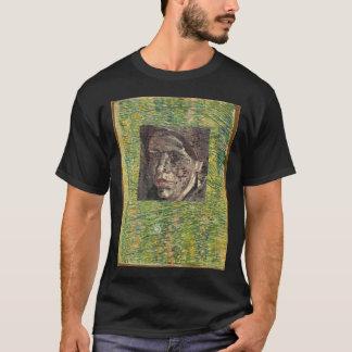 van gogh portrait under grasgrond overview  van go T-Shirt