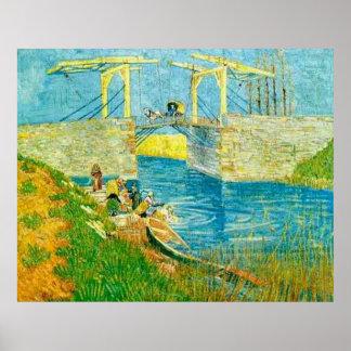 Van Gogh Poster The Langlois Bridge at Aries